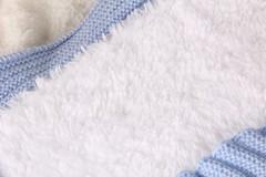 Зимний конверт-одеяло Косичка розовый