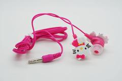 Наушники Hello Kitty бело-розовые детские