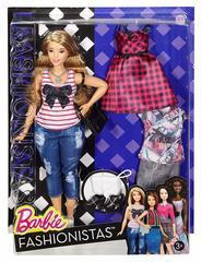Barbie Блондинка с набором одежды