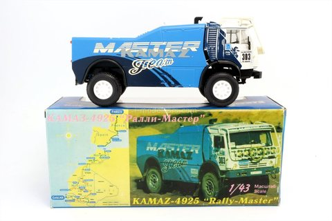 KAMAZ-4925 #303 Master Rally Paris-Dakar Elecon 1:43