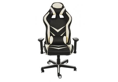 Офисное кресло для персонала и руководителя Компьютерное Racer черное / бежевое 70*70*120 Черный / бежевый