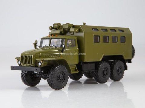 Ural-4320 KUNG (vehicle module system) K4320 1:43 Legendary trucks USSR #27