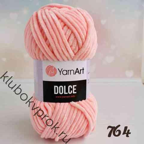 YARNART DOLCE 764, Светлый персик