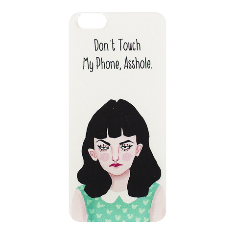 Чехол для Iphone 6/6s Don't touch