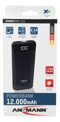 Универсальный аккумулятор ANSMANN Powerbank 12800mA