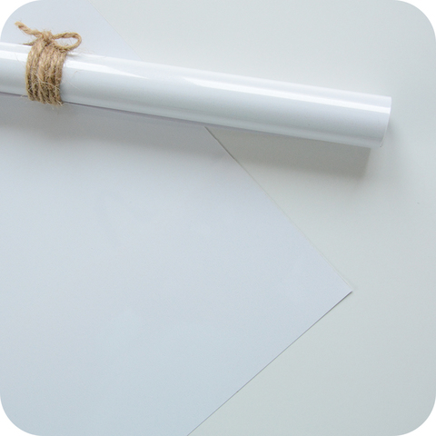 Термотрансферная пленка белая, матовая  25х25 см