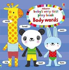 Baby's Very First Playbook Body Words (board bk)
