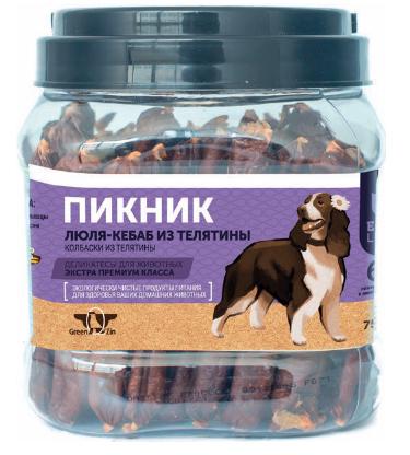 Лакомства Лакомство для собак Green Qzin Пикник Beef пикник_биф.png