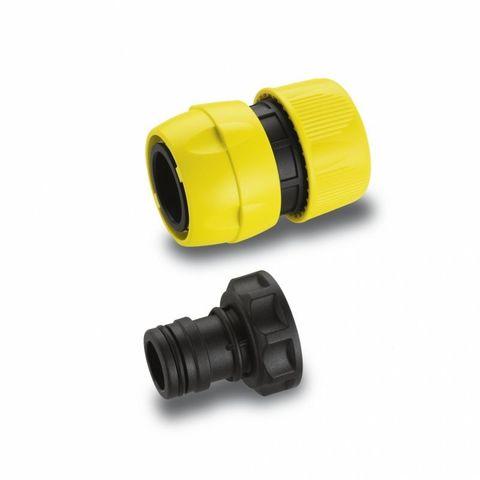 Комплект Karcher Premium для подключения шлангов 3/4, Коннектор быстросъемный, штуцер G1 ВР