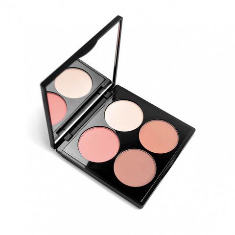 Палетка для лица 4you С308 «Ласковое лето» 8,4 гр (Kristall Minerals Cosmetics)