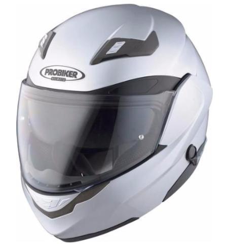 Мотошлем - PROBIKER KX5 Z-LINK 2.0 (металлик, серебряный)