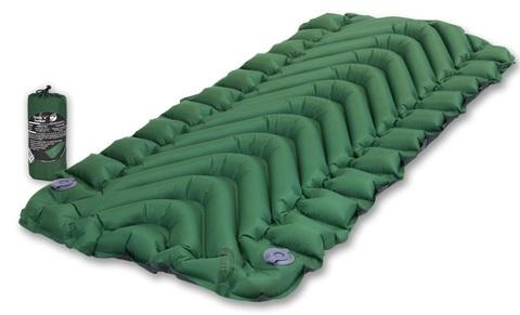 Надувной коврик Klymit Static V Junior, зеленый