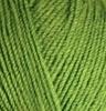 Пряжа Alize SEKERIM BEBE 210 (Зеленый)