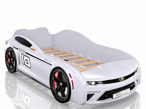 Кровать-машинка Romack Energy Белая
