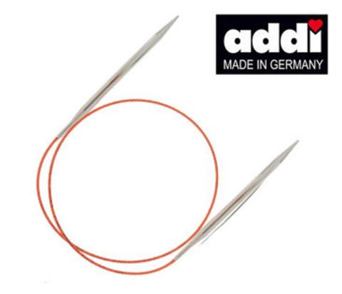 Спицы  круговые с удлиненным кончиком  Addi №4,   40 см     арт.775-7/4-40