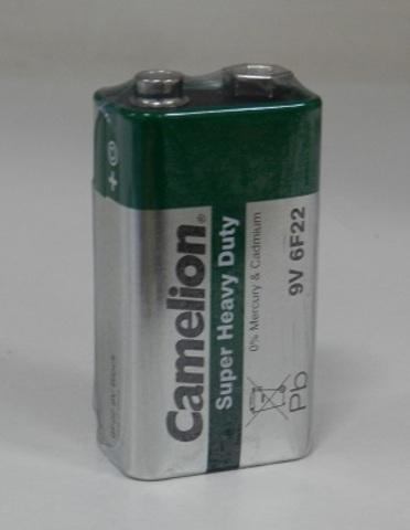 Батарейка Camelion 6F22 SR1 (крона)