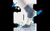 Картинка носки Thorlo LRMXW White/Black - 2