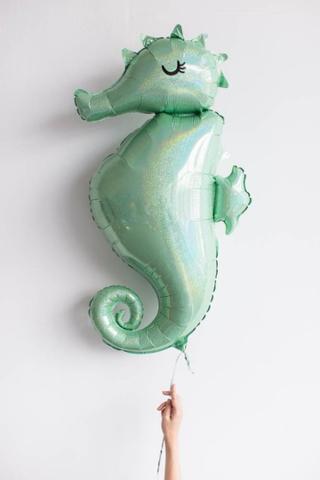 Фольгированный шар Морской конек