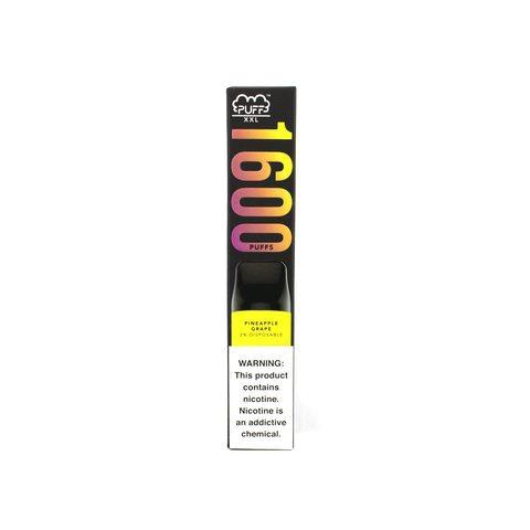 Одноразовая электронная сигарета Puff XXL Pineapple Grape (Ананас Виноград)
