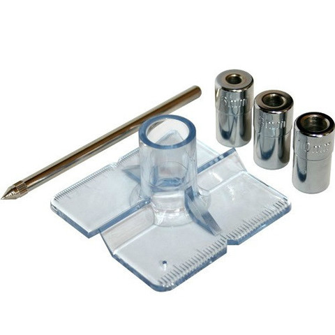 Кондуктор для сверления ПРАКТИКА для сверл 6, 8, 10 мм, под прямым углом под шканты, для д (775-334)