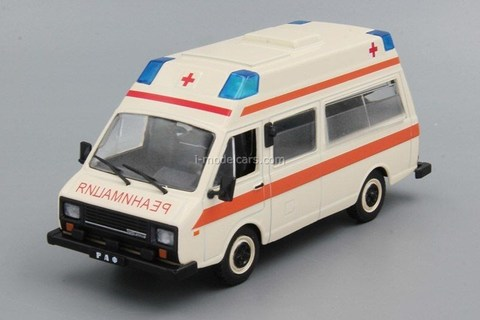 RAF-2914 Latvia Reanimation 1:43 DeAgostini Auto Legends USSR #214