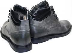 Стильные мужские зимние ботинки Ikoc 3620-3 S