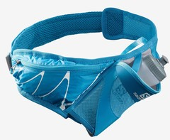 Сумка для бега с флягой Salomon Sensibelt Vivid Blue