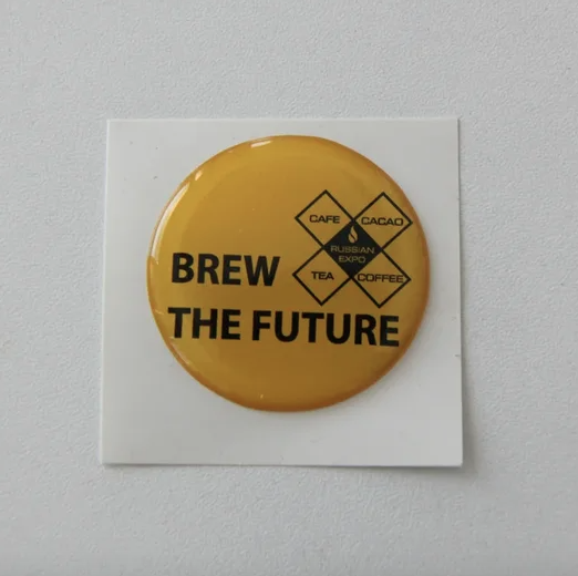 Наклейки BREW THE FUTURE (yellow)