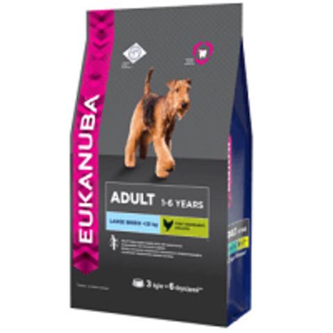 Eukanuba Dog Adult Large Breed Сухой корм для взрослых собак крупных и очень крупных пород