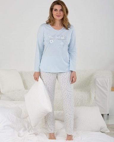 Пижама женская сос штанами из органического хлопка Massana MP_711283