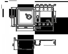Схема Omoikiri Sakaime 86-2-SA
