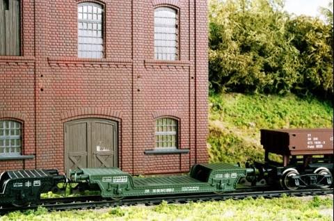 2-осный Транспортёр (St) строит. поезда, DR, (IV Эп.)