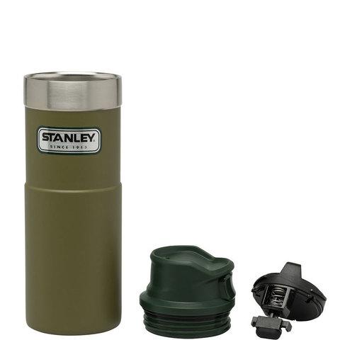 Термокружка Stanley Classic Trigger Action One Hand (0,47 литра), оливковая