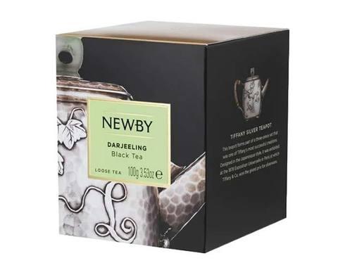 Чай черный листовой Newby Heritage Darjeeling, 100 г