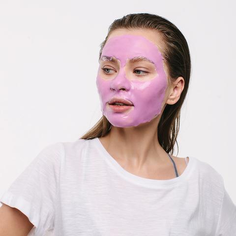 Альгинатная маска с экстрактом черники, миоксинолом и витамином С для куперозной, чувствительной кожи