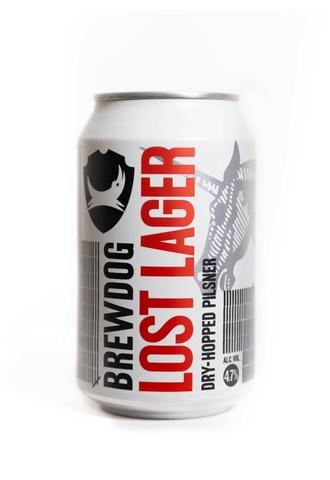 Brewdog Lost Lager / Брюдог Лост Лагер (светлое фильтрованное непастеризованное)