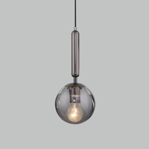 Подвесной светильник со стеклянным плафоном 50208/1 дымчатый