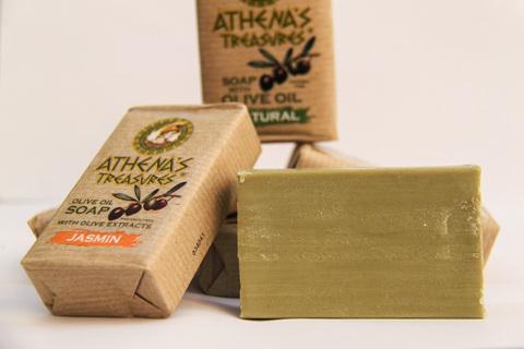 Мыло от ATHENA'S TREASURES в Eco бумаге