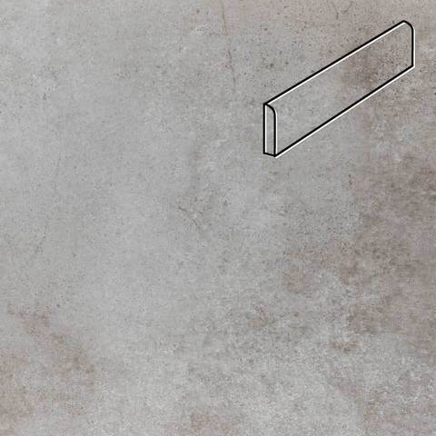 Stroeher - Keraplatte Aera Т 705 beton 294х73х8 артикул 8108 - Клинкерный плинтус