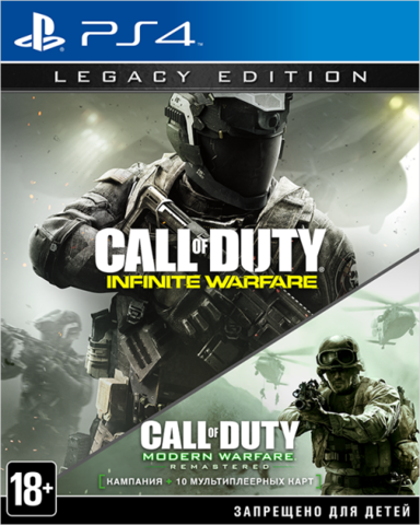 Call of Duty: Infinite Warfare Legacy Edition (PS4, английская версия)
