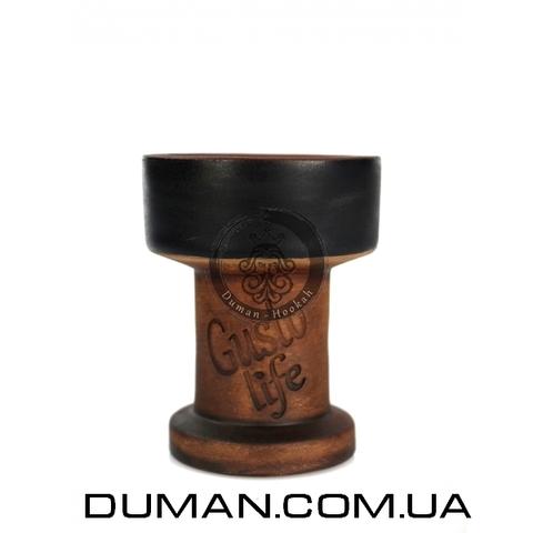 Чаша Gusto Bowls Rook (Густо Болс Рук) Black для кальяна