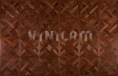 Кварц виниловая плитка Vinilam 216513 - Паркет Темный