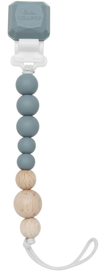 Держатель для пустышки Colour Pop Серый Pacifier Clip - Colour Pop