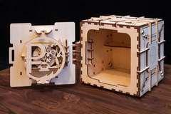 Сейф (Технократ) - Деревянный конструктор, сборная модель, 3D пазл