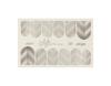 Фольга для дизайна ногтей цвет серебро 52 купить за 120руб