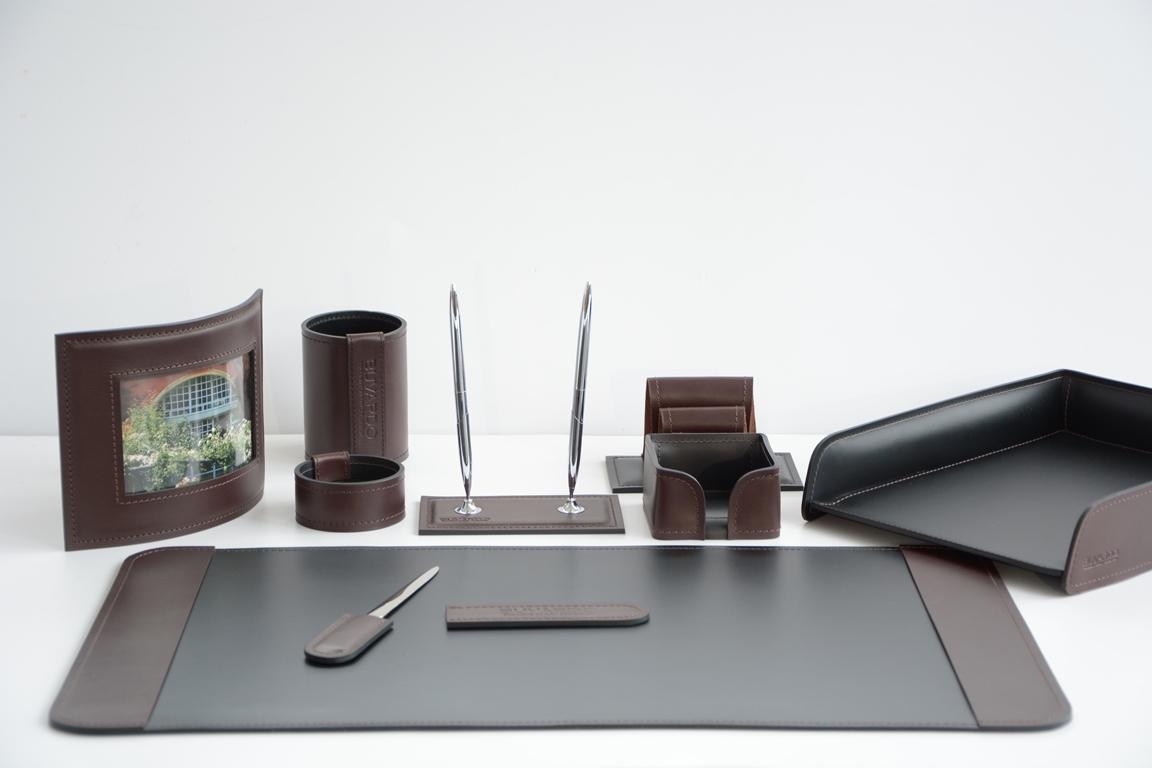 VIP набор на стол руководителю 9 предметов, арт.11001