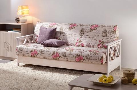 Диван кровать Ручеек клик-клак массив