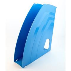 Вертикальный накопитель Attache Fantasy пластиковый голубой ширина 70 мм