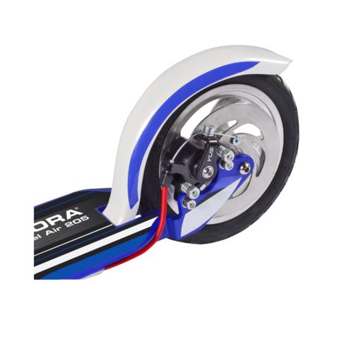 Двухколесный самокат Hudora Big Wheel Air 205 Dual Brake