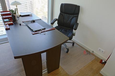 Защитный коврик под кресло 800x1200 мм шагрень